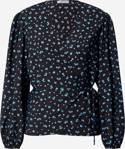 EDITED Blouse 'Papina' in Blue / Black, Item view