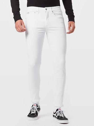Calvin Klein Jeans Дънки в бял деним, Преглед на модела