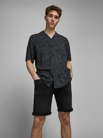JACK & JONES Jeans 'RICK' i svart