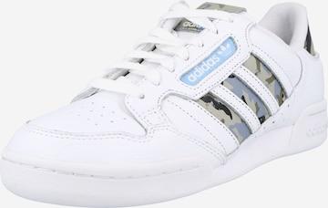 Baskets basses 'Continental 80' ADIDAS ORIGINALS en blanc