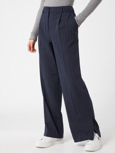 Kelnės su kantu 'Sigrid' iš SELECTED FEMME , spalva - tamsiai mėlyna, Modelio vaizdas