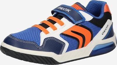 GEOX Sneaker 'Inek' in royalblau / dunkelblau / dunkelorange / schwarz / weiß, Produktansicht