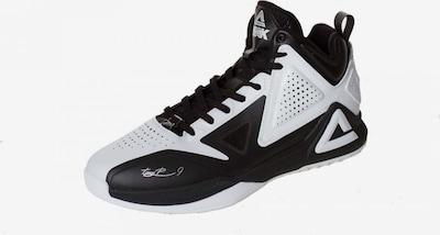 PEAK Basketballschuh 'TP1 Tony Parker' in schwarz / weiß, Produktansicht