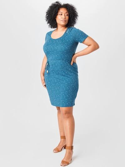 kék / fehér Ragwear Plus Nyári ruhák, Modell nézet