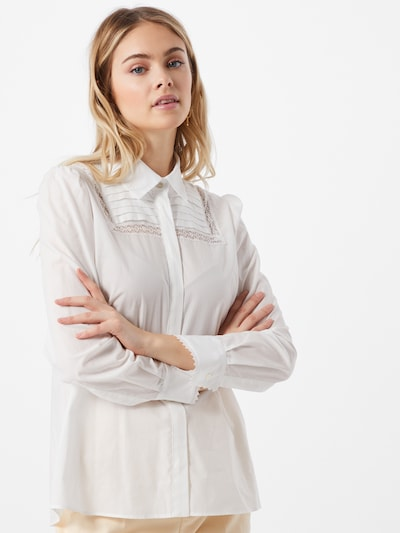 Weekend Max Mara Blus i vit, På modell