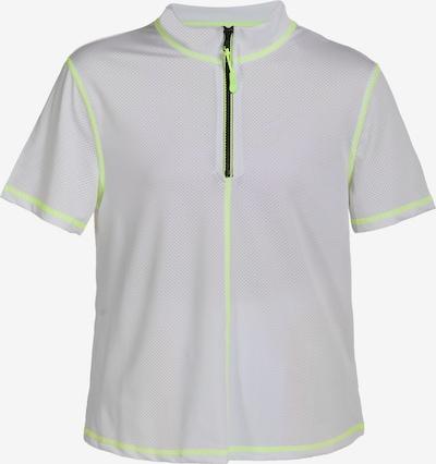 myMo ATHLSR Functioneel shirt in de kleur Neongroen / Wit, Productweergave