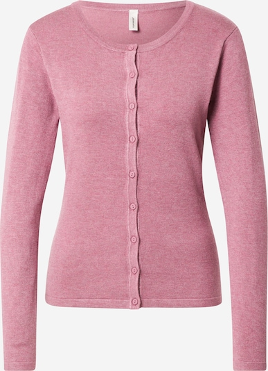 Soyaconcept Knit cardigan 'DOLLIE' in pink: Frontal view