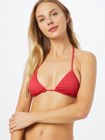 sarkans ETAM Bikini augšdaļa 'LEMON'