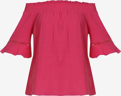 MYMO Blouse in de kleur Pitaja roze: Vooraanzicht