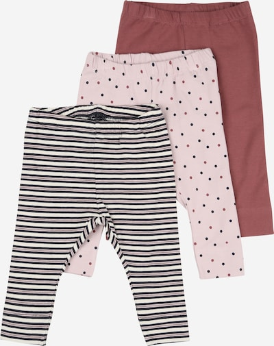 NAME IT Leggings in dunkelblau / lila / pink, Produktansicht