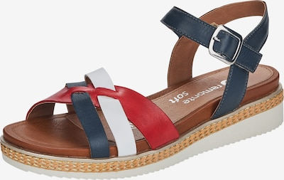REMONTE Sandale in blau / rot / weiß, Produktansicht