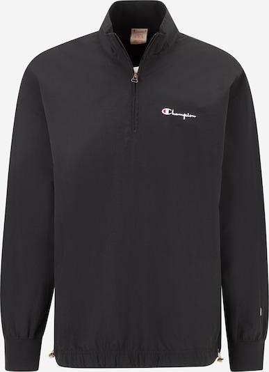 Champion Reverse Weave Jacke in rot / schwarz / weiß, Produktansicht