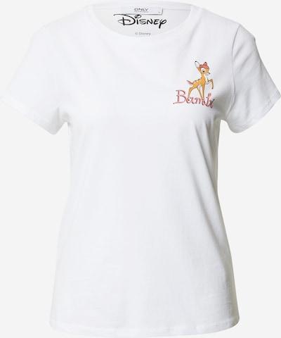 ONLY T-shirt 'Bambi' i vit, Produktvy
