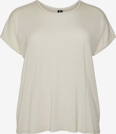 Tricou 'PLIS' Vero Moda Curve pe crem, Vizualizare produs