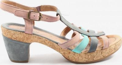 GABOR Plateau-Sandaletten in 39 in blau / pink, Produktansicht