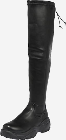 Cizme peste genunchi Buffalo London pe negru, Vizualizare produs
