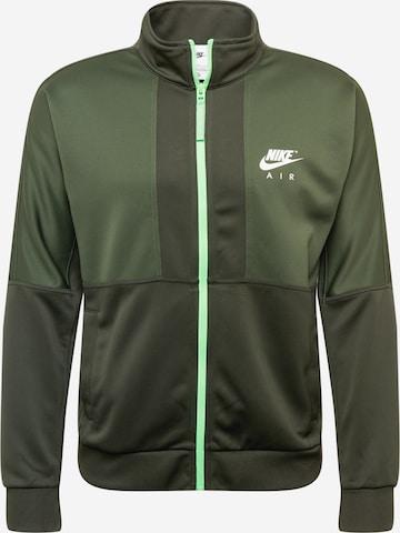 zaļš Nike Sportswear Sportiska jaka