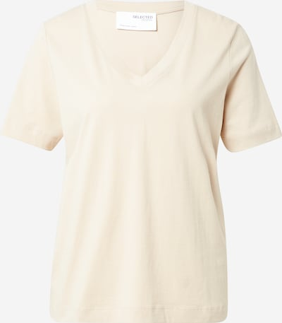 SELECTED FEMME Shirt in de kleur Crème, Productweergave
