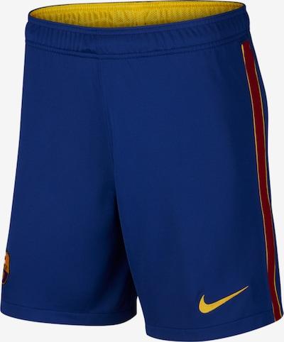 NIKE Sporthose in royalblau / goldgelb / rubinrot, Produktansicht