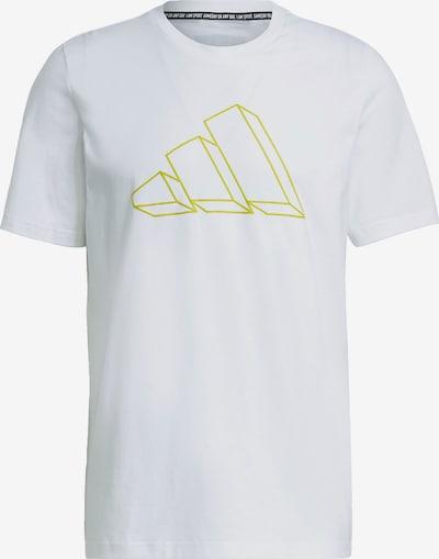 ADIDAS PERFORMANCE Funkčné tričko - zlatá / biela, Produkt