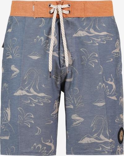 QUIKSILVER Boardshorts in rauchblau / grau / orange, Produktansicht