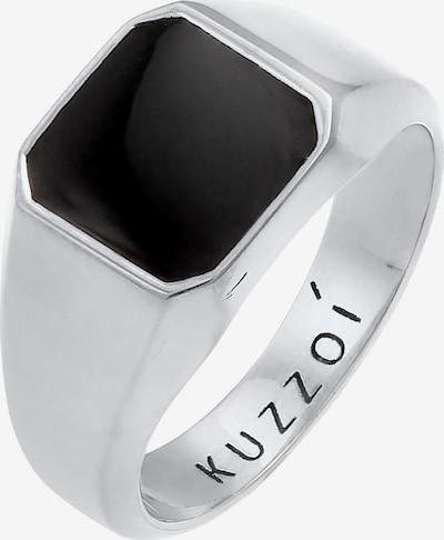KUZZOI Ring in Black / Silver, Item view