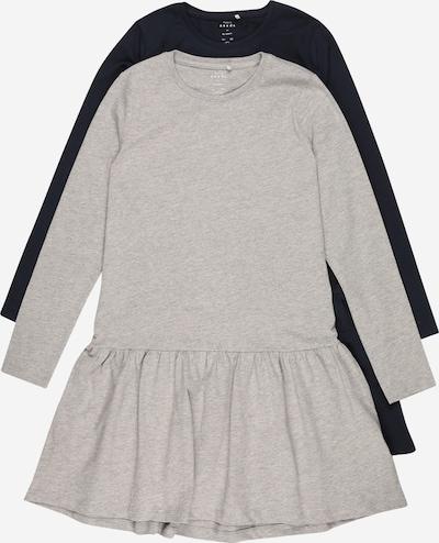 NAME IT Kleid 'VETA' in saphir / graumeliert, Produktansicht