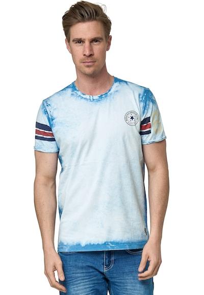 Rusty Neal Shirt in de kleur Beige: Vooraanzicht