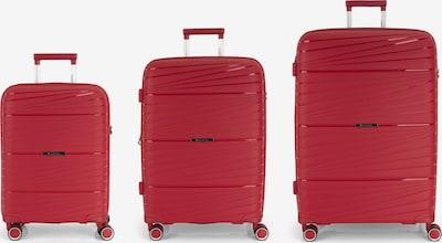 Gabol Ensemble de bagages 'Kiba' en rouge, Vue avec produit