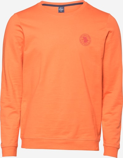 s.Oliver Sweatshirt in orange, Produktansicht