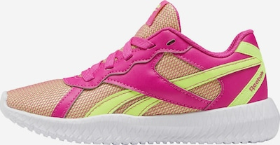 REEBOK Sportschuh in neongelb / pink, Produktansicht