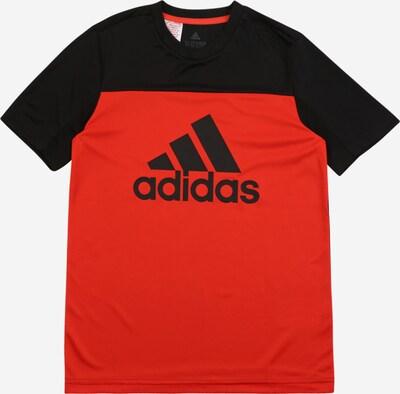 ADIDAS PERFORMANCE Sportshirt in rot / schwarz, Produktansicht