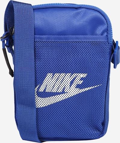 Nike Sportswear Umhängetasche 'Heritage' in royalblau / weiß, Produktansicht