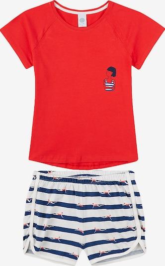 SANETTA Schlafanzug in blau / rot / weiß, Produktansicht