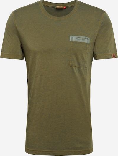 Ragwear Shirt 'BARTIE' in de kleur Olijfgroen: Vooraanzicht