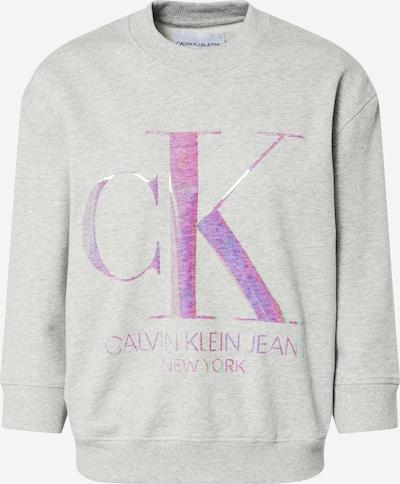 Calvin Klein Sweatshirt 'Iridescent' in de kleur Grijs, Productweergave