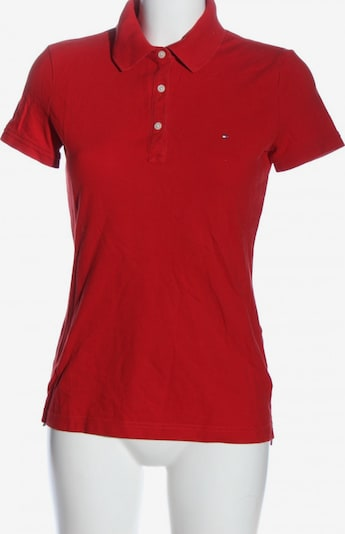 TOMMY HILFIGER Polo-Shirt in S in rot, Produktansicht