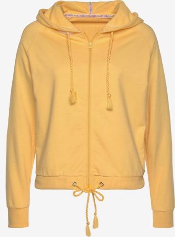 BUFFALO Sweatjacke in Gelb