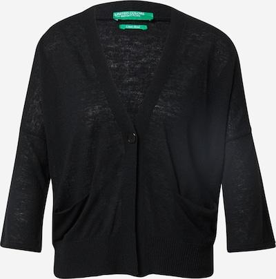 UNITED COLORS OF BENETTON Damen - Pullover & Strickjacken 'L/S CARDIGAN' in schwarz, Produktansicht