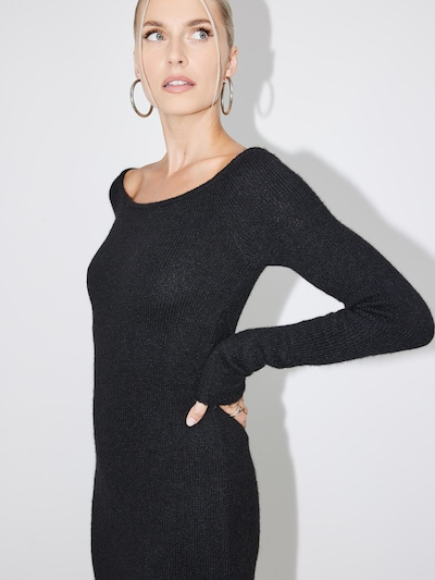 LeGer by Lena Gercke Knitted dress 'Fanny' in Black, Item view