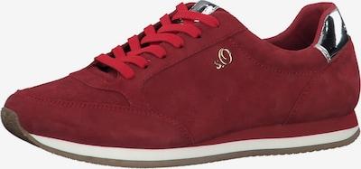 s.Oliver Nízke tenisky - červená / strieborná, Produkt