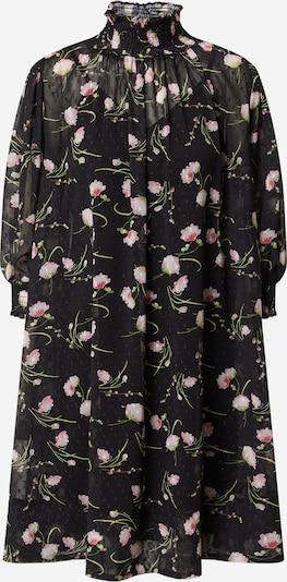 Forever Unique Robe en vert / rose / noir / blanc, Vue avec produit