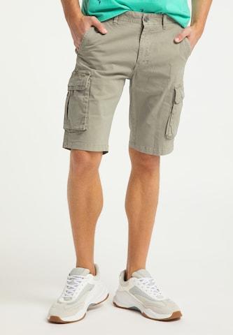 Pantalon cargo MO en vert