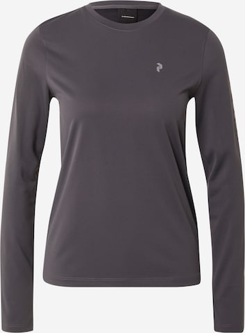 PEAK PERFORMANCE Toiminnallinen paita 'Alum' värissä harmaa