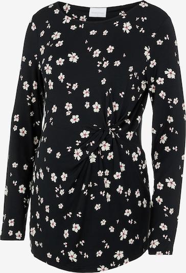 MAMALICIOUS Shirt in schwarz / weiß, Produktansicht