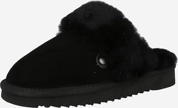 MUSTANG Slippers in Black