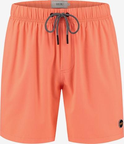 Shiwi Shorts de bain en corail, Vue avec produit