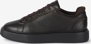 Boggi Milano Δετό παπούτσι σε καφέ