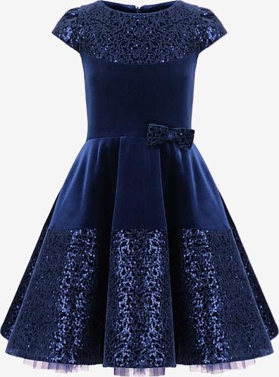 Gebriel Juno Kleid in blau, Produktansicht