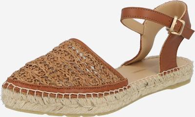 Sandale 'ESPADRILLE SANDAL 2 CM NATURAL WOVEN FI' Fred de la BretoniÈre pe maro, Vizualizare produs